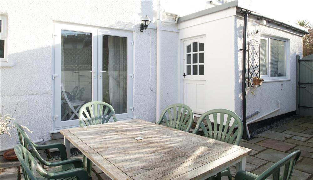 Patio with outdoor furniture