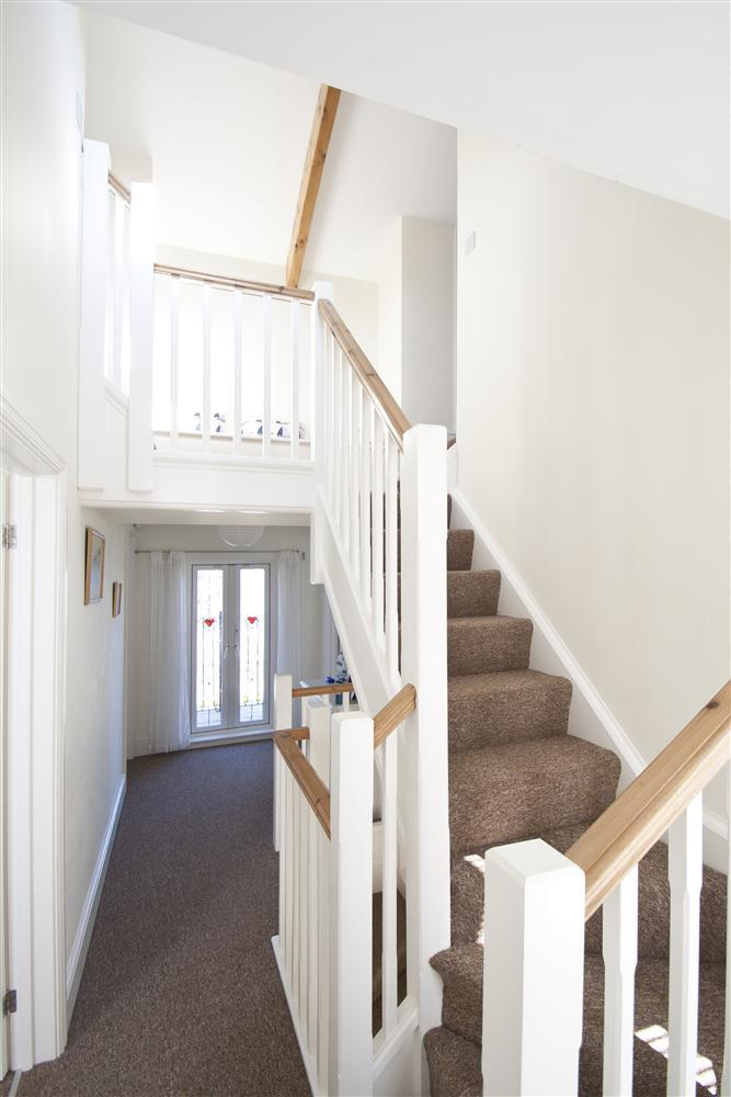 Hallway and staircase
